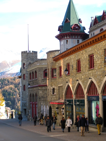 Travel blogging, St Moritz, Switzerland, Badrutt's Palace hotel