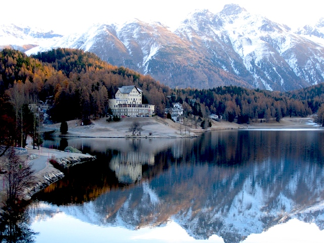 How I afford luxury travel, St Moritz Hotel Waldhaus Switzerland