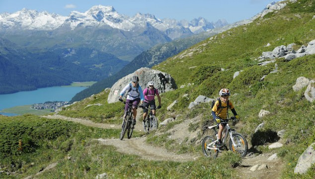 Blogging on the road, Switzerland, St Moritz, cycling