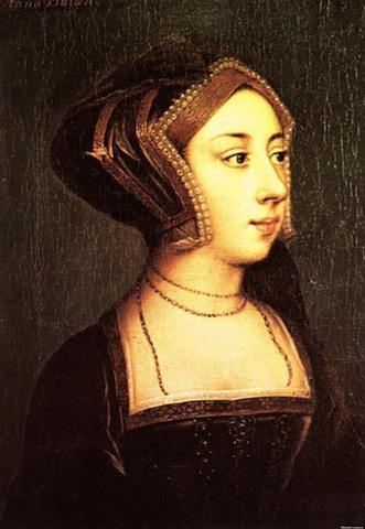 Portrait Anne Boleyn Hever Castle