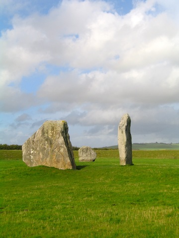 Male and female stones Avebury