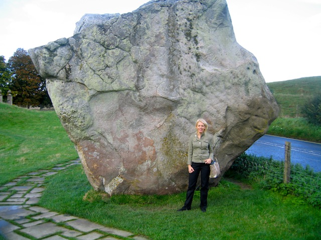 Large stone at Avebury