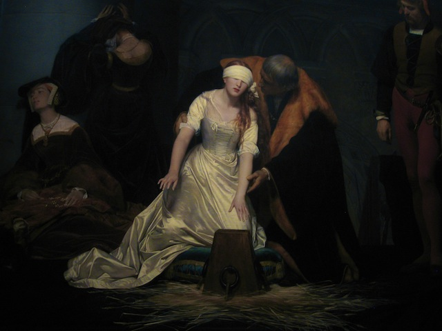 Anne Boleyn execution
