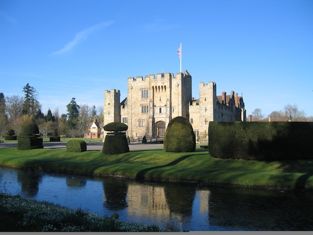 Hever Castle following the Anne Boleyn Trail