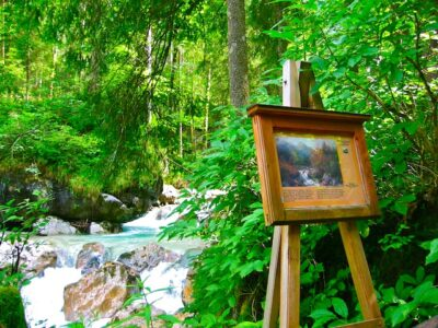 Lake Hintersee, Germany: a path to artistic exploration