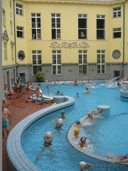 Baths of Budapest Lukacs Hungary thermal pools