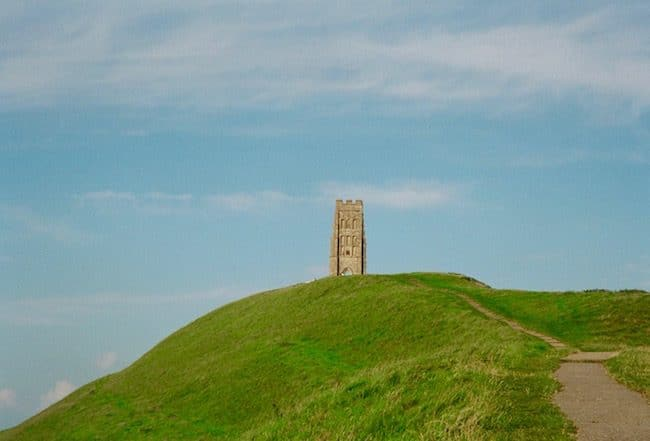 Mystical places, do they exist. Glastonbury Tor