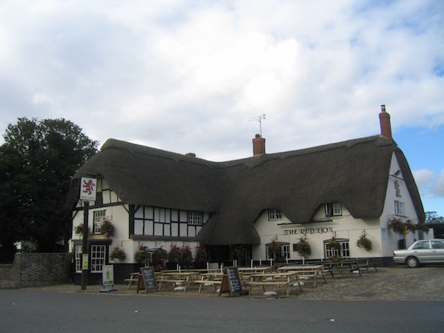 Pub at Avebury Stone Circle