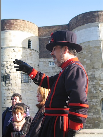Yeoman Warder Tour, following the Anne Boleyn Trail, England