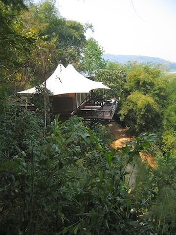 Glamping Four Seasons Tented Camp Golden Triangle