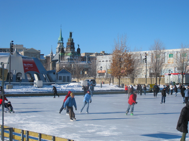 Quays-Skating-Rink, King's Daughters Montreal