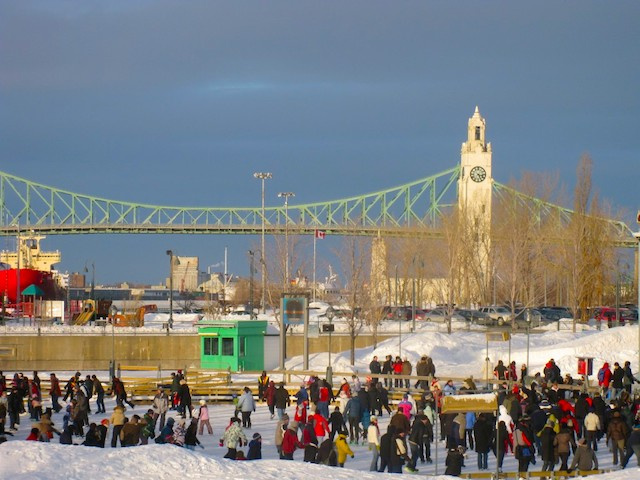 Quays-Skating-Rink-Montreal, King's Daughters