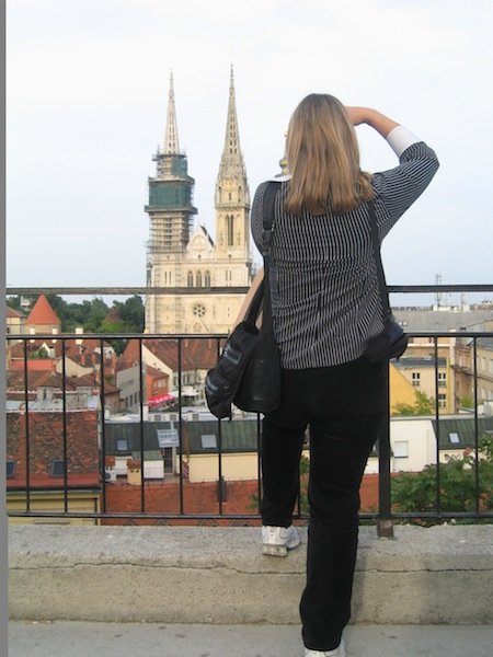Solo traveler in Zagreb