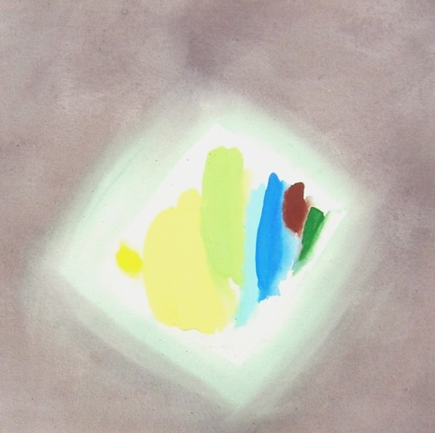 William Perehudoff halo painting 80s