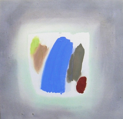 Perehudoff 80s abstract acrylic painting