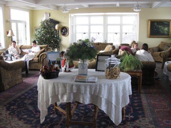 Ste Anne's Country Inn & Spa waiting room