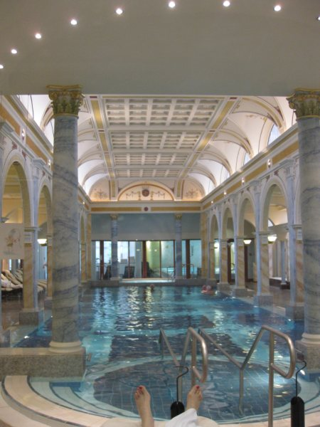 Swiss spas high tech wellness at Bad Ragaz Switzerland
