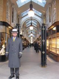 Shopping in the arcades of hip Mayfair in London