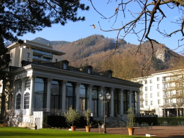 Spas in Europe Bad Ragaz Switzerland