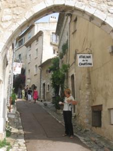 Street in Saint-Paul-de-Vence