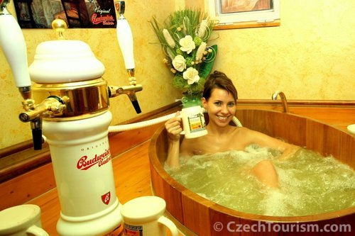 Beer goggles (and beer spas) – new research reveals why beer makes you beautiful