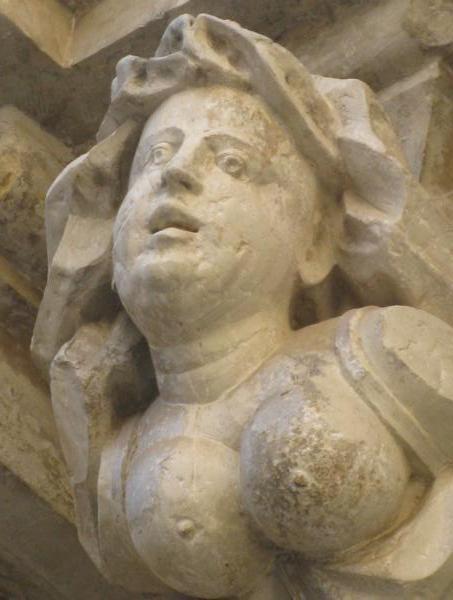 Visiting Puglia, Italy: stone sculpture