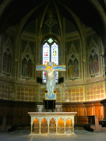 Italian church interior