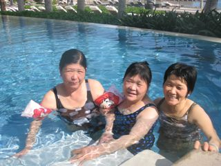 women on Hainan Island in China