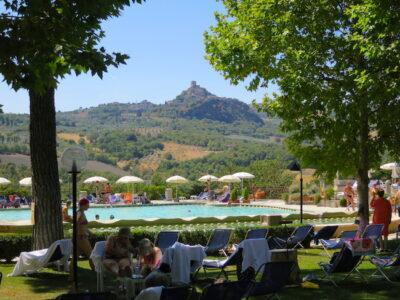 Bagno Vignoni spa in Tuscany