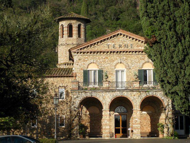 Grotta Giusti thermal spa resort in Tuscany, Italy