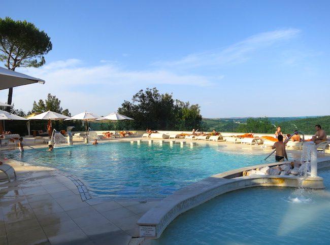 Petriolo Terme spa in Tuscany