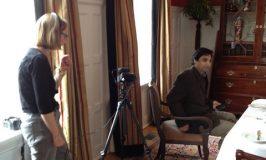 Shooting video at Langdon Hall