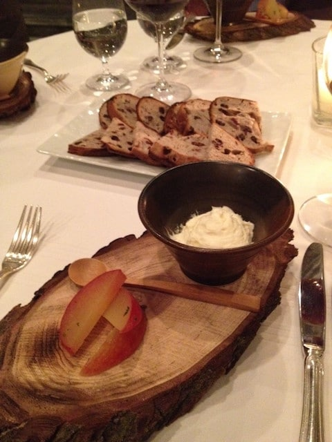 food at Langdon Hall