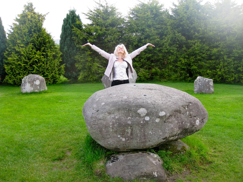 Communing at the Stone Circle of Kenmare, Ring of Kerry, Ireland