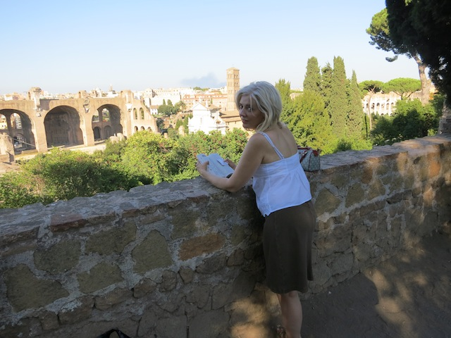 Searching for the Vestal Virgins of Rome in a heatwave