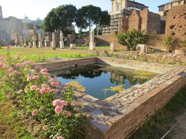 Grounds of the Vestal Virgins of Rome