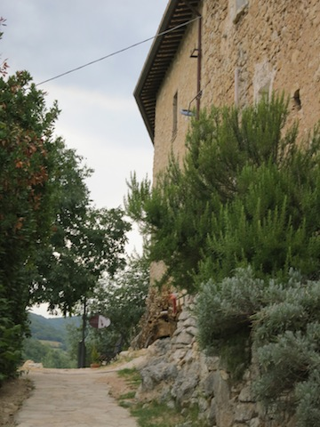 Falling for Ferentillo in Umbria at the Guesthouse Runcini