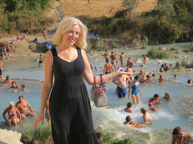 Terme di Saturnia in Tuscany: hot springs of the gods