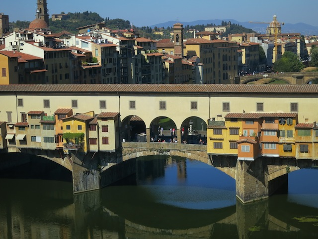 Best views in Florence, Ponte Vecchio