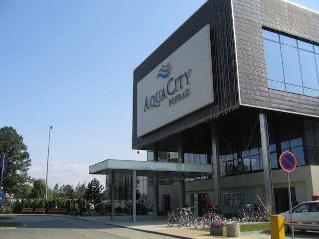 Cryotherapy at AquaCity, Poprad