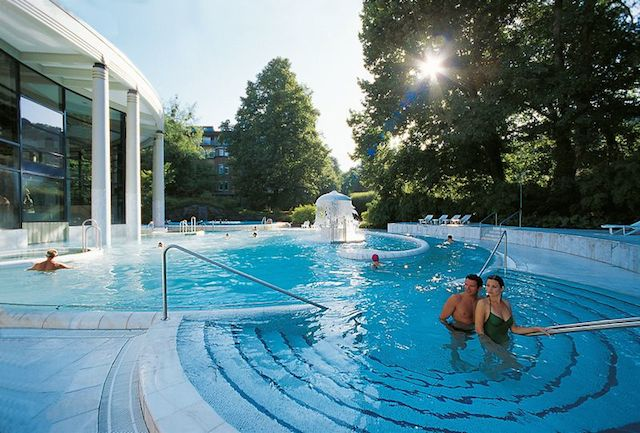 hot spring spa Caracalla Therme in Baden-Baden