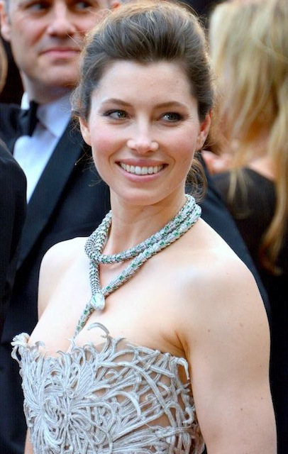 Jessica Biel's accidental naked man sandwich at Austrian spa Jessica Biel Wikipedia