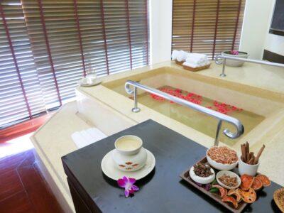 Couples suite Mandara Spa in Bangkok Sheraton Orchid Hotel