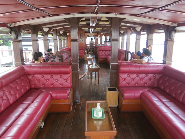 Royal Orchid Sheraton free shuttle boat