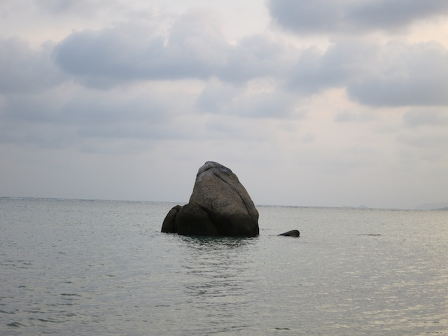 Life lessons learned on a beach in Koh Samui, lone rock in the sea