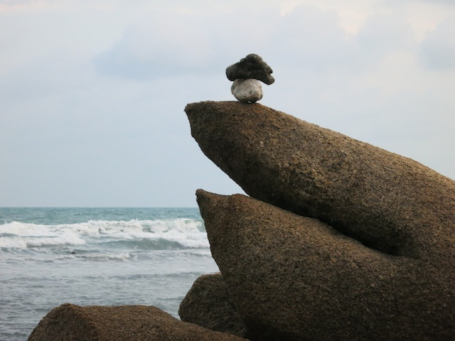 Life is a fine balance, life lessons learned on the beach in Koh Samui