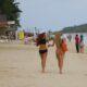 Beach scene in Koh Samui