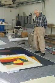 William Perehudoff in his studio