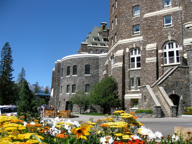 Luxury hotel in Banff Canada the Fairmont Banff Springs