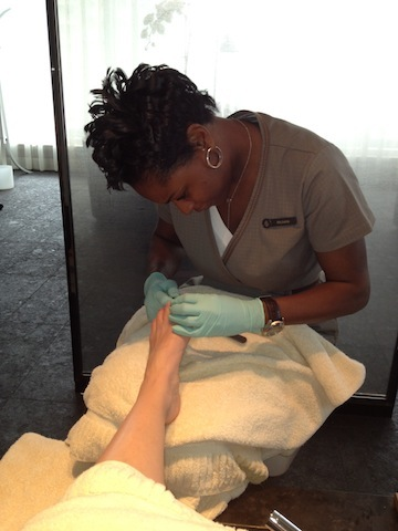 Four Seasons Spa Toronto pedicure